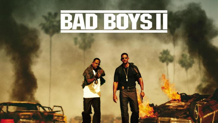 Martin Lawrence as Marcus Burnett and Will Smith as Mike Lowrey in Bad Boys II